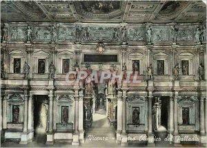 Postcard Modern Vinceza Teatro Olimpico Palladio