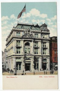 New Orleans, La, Cotton Exchange