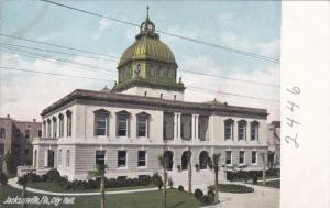 JACKSONVILLE, Florida, 1900-1910's; City Hall