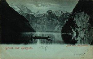 CPA AK Gruss vom Konigssee GERMANY (878876)