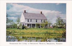 Vermont Shelburne Stagecoach Inn 1784 At Shelburne Mueum