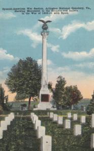 ARLINGTON , Virginia , 00-10s : Cemetery, Spanish-American war section