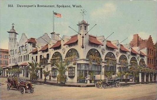 Washington Spokane Davenports Resturant