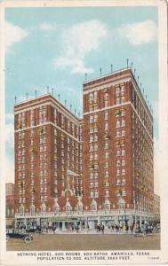 Texas Amarillo Herring Hotel Curteich