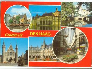 Holland Netherlands, Groeten uit Den Haag 1989 used Postcard