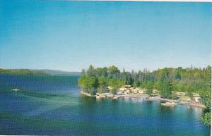 Canada Aerial View Francois Lake British Columbia