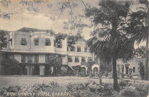 Government House Barbados West Indies Unused