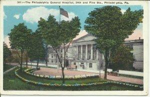 Philadelphia, Pa., Philadelphia General Hospital- 34th And Pine Streets