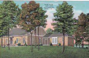 Mississippi Hattiesburg Elks Club and Lake