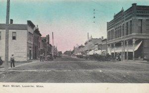 LUVERNE , Minnesota, 1900-10s , Main Street