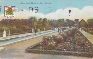 Walkways and Gardens - Gage Park, Hamilton, Ontario, Canada - pm 1930 - DB
