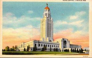Nebraska Lincoln State Capitol Building Curteich