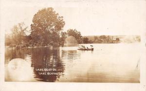 D29/ Lake Benton Minnesota Mn Real Photo RPPC Postcard c1910 Boating Scene