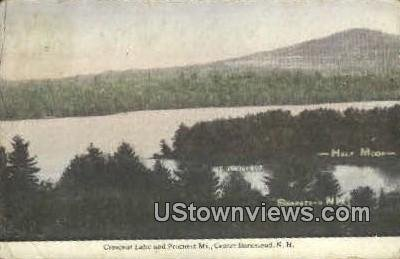 Crescent Lake & Prospect Mt in Center Barnstead, New Hampshire