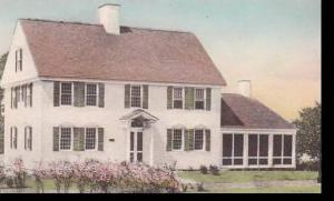 Michigan Dearborn Governor Oliver Wolcott House Albertype