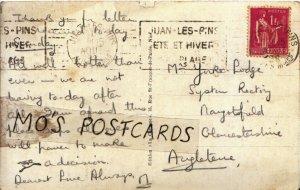 Genealogy Postcard - Yorke-Lodge - Syston Rectory - Gloucestershire - Ref 357B