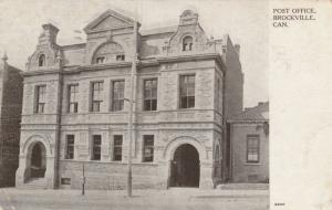 BROCKVILLE , Ontario , 1908 ; Post Office ; Version-2