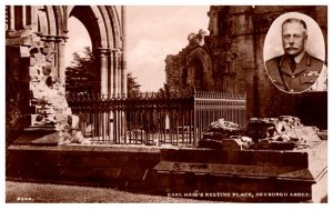 England  Dryburg Abbey Earl Haig's Resting Place