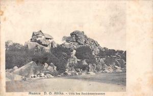 German East Africa Tanzania Mwanza Muanza, Villa Bezirksamtmannes Postkarte Card