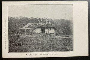 Mint Colombia Real Picture Postcard RPPC Novitia Viejo Society House