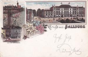 Gruss aus SALZBURG , Austria , PU-1897