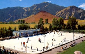 ID - Sun Valley. Olympic Size Skating Rink