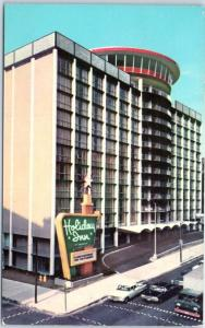 Baltimore, Maryland Postcard HOLIDAY INN DOWNTOWN Hotel Street View 1960s Unused
