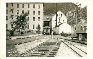 ID, Burke, Idaho, Tiger Hotel, Railroad and H-Way Ran Thru, Creek Ran Under,RPPC