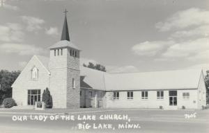 RP: BIG LAKE , Minn. , 1950s ; Our Lady of the Lake Church