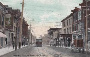 KINGSTON , Ontario , Canada , 1912 ; Princess Street