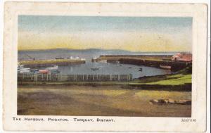UK, The Harbour, Paignton, Torquay, Distant, used Postcard