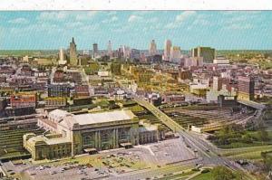 Missouri Kansas City Union Station And Skyline