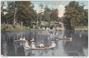 Boating at Glen Miller , RICHMOND , Indiana , PU-1909