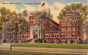 Hospitals Post Card Baptist State Hospital Little Rock, Arkansas, USA Postcar...