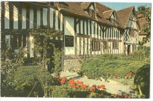 UK, Mary Arden´s House, The Home of Shakespeare´s Mother, unused Postcard