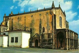 Portugal Evora Saint Francis Royal Church Eglise Postcard