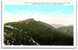 Early 1900s Summit of Mt. Mansfield and Smuggler's Notch, VT Postcard