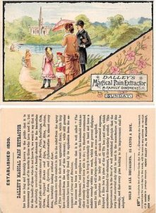 Victorian Trade Card Approx size inches = 3 x 4.25 Pre 1900 wear right top co...