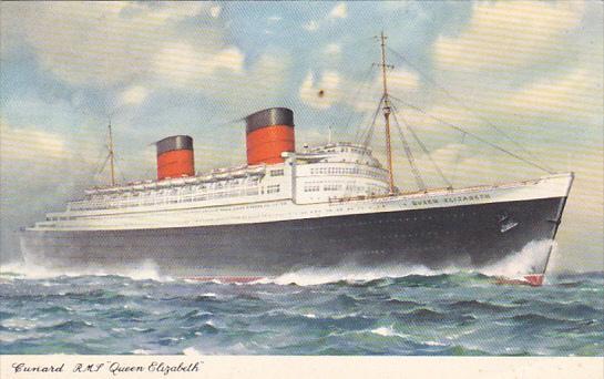 Cunard R M S Queen Elizabeth