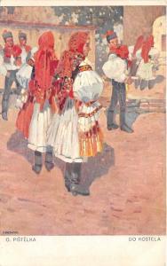 B58791 O Pistelka Do Kostela  slovakia types folklore