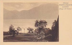 Villa Porto Felice Lenno, Lago di Como (Lombardy), Italy, 1900-1910s