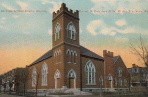 YORK , Pennsylvania , 00-10s ; St Paul United evang. Church