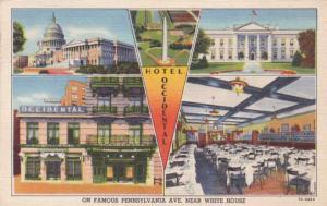 Hotel Occidental, Washington, DC - pm 1947 - Linen