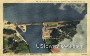 TV A's Kentucky Dam Western Kentucky KY Unused