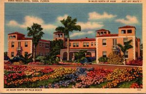 Florida Dania The Dania Beach Hotel 1942
