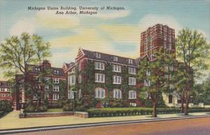Michigan Ann Arbor Michigan Union Building University Of Michigan Curteich