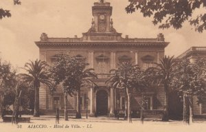 AJACCIO, Corse Du Sud, France, 1900-1910s; Hotel de Ville