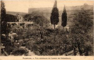 CPA Palestine Vue Generale du Jardin de Gethsemani ISRAEL JERUSALEM (752219)