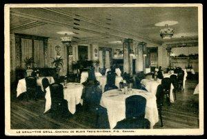 dc1309 - TROIS RIVIERES Quebec Postcard 1936 Chateau de Blois Interior