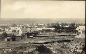south africa, ESTCOURT, Panorama, Dairy (1930s) RPPC